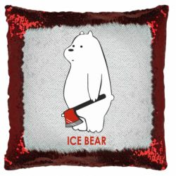 Подушка-хамелеон Ice bear