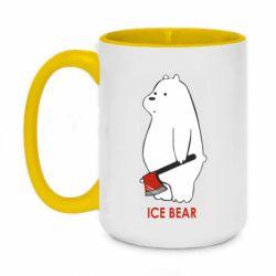 Кружка двоколірна 420ml Ice bear