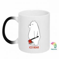 Кружка-хамелеон Ice bear