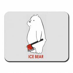Килимок для миші Ice bear