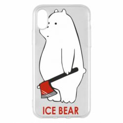 Чохол для iPhone X/Xs Ice bear