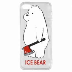 Чохол для iphone 5/5S/SE Ice bear