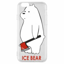 Чохол для iPhone 6/6S Ice bear