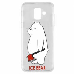 Чохол для Samsung A6 2018 Ice bear