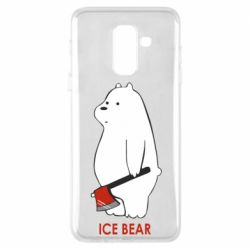 Чохол для Samsung A6+ 2018 Ice bear