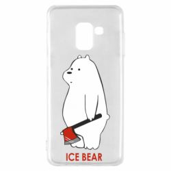 Чохол для Samsung A8 2018 Ice bear