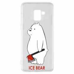 Чохол для Samsung A8+ 2018 Ice bear