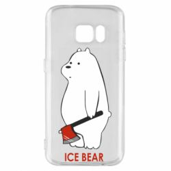 Чохол для Samsung S7 Ice bear