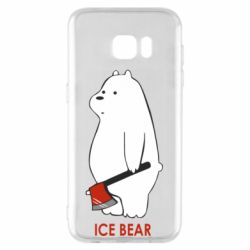 Чохол для Samsung S7 EDGE Ice bear