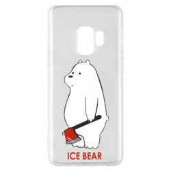 Чохол для Samsung S9 Ice bear