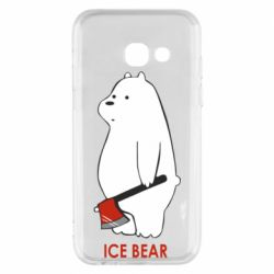 Чохол для Samsung A3 2017 Ice bear