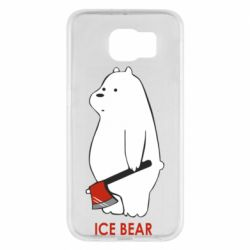 Чохол для Samsung S6 Ice bear