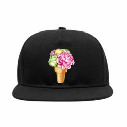Снепбек Ice cream flowers