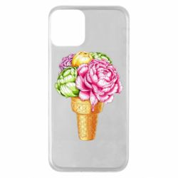 Чохол для iPhone 11 Ice cream flowers