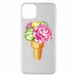 Чохол для iPhone 11 Pro Max Ice cream flowers