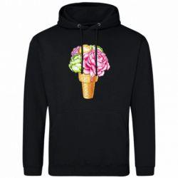 Чоловіча толстовка Ice cream flowers