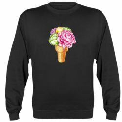 Реглан (світшот) Ice cream flowers