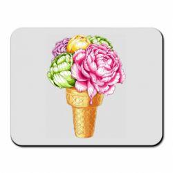 Килимок для миші Ice cream flowers