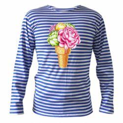 Тільник з довгим рукавом Ice cream flowers