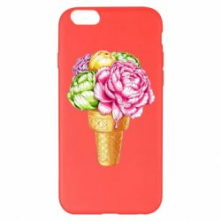 Чохол для iPhone 6 Plus/6S Plus Ice cream flowers