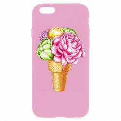 Чохол для iPhone 6/6S Ice cream flowers