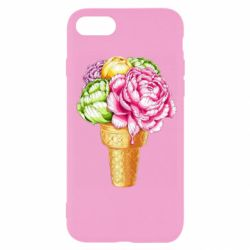 Чохол для iPhone 8 Ice cream flowers