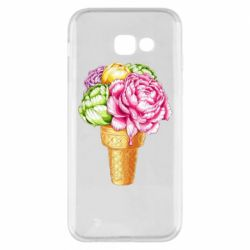 Чохол для Samsung A5 2017 Ice cream flowers
