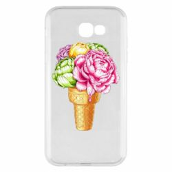 Чохол для Samsung A7 2017 Ice cream flowers