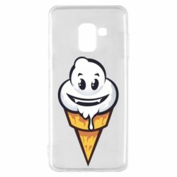 Чохол для Samsung A8 2018 Ice cream graffiti