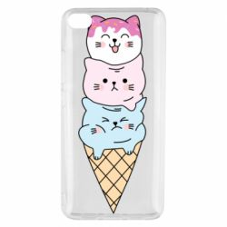 Чехол для Xiaomi Mi 5s Ice cream kittens