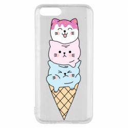 Чехол для Xiaomi Mi6 Ice cream kittens