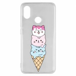Чехол для Xiaomi Mi8 Ice cream kittens