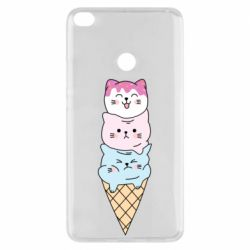 Чехол для Xiaomi Mi Max 2 Ice cream kittens