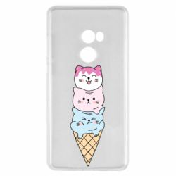 Чехол для Xiaomi Mi Mix 2 Ice cream kittens