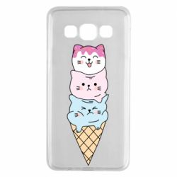 Чехол для Samsung A3 2015 Ice cream kittens
