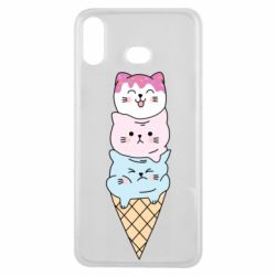 Чехол для Samsung A6s Ice cream kittens