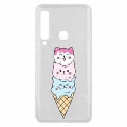 Чехол для Samsung A9 2018 Ice cream kittens