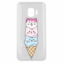 Чехол для Samsung J2 Core Ice cream kittens
