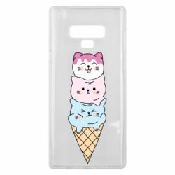 Чехол для Samsung Note 9 Ice cream kittens