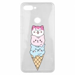 Чехол для Xiaomi Mi8 Lite Ice cream kittens