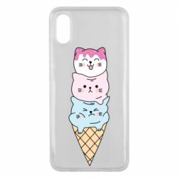 Чехол для Xiaomi Mi8 Pro Ice cream kittens