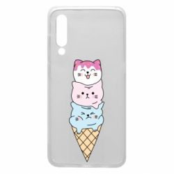 Чехол для Xiaomi Mi9 Ice cream kittens