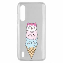 Чехол для Xiaomi Mi9 Lite Ice cream kittens