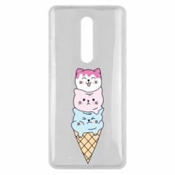 Чехол для Xiaomi Mi9T Ice cream kittens