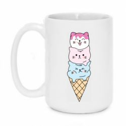Кружка 420ml Ice cream kittens