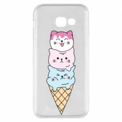 Чехол для Samsung A5 2017 Ice cream kittens