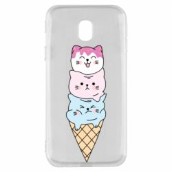 Чехол для Samsung J3 2017 Ice cream kittens