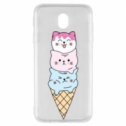 Чехол для Samsung J7 2017 Ice cream kittens