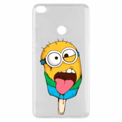 Чехол для Xiaomi Mi Max 2 Ice cream minions