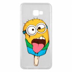 Чехол для Samsung J4 Plus 2018 Ice cream minions
